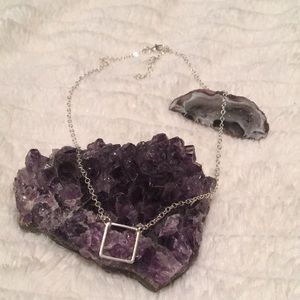 Minimalistic Square Necklace